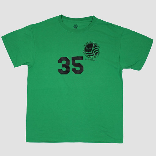 Fruit of the Loom Green Basketball T-Shirt