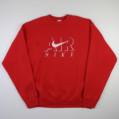Nike Air Bootleg Red Sweatshirt