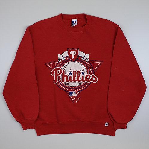 Russel Athletic Red Phillies Sweatshirt
