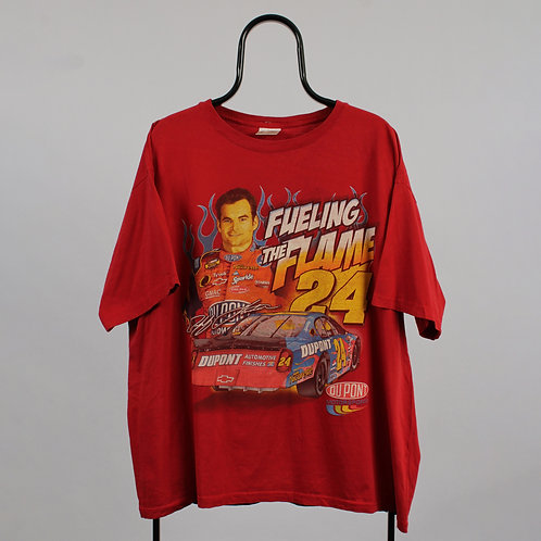 Nascar Vintage Red Fuelling The Flame TShirt