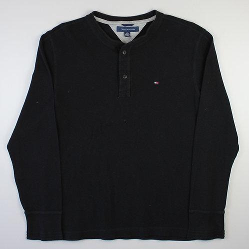 Tommy Hilfiger Black Long Sleeved Jersey