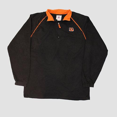 NFL Cincinnati Bengals 1/4 Zip Sweatshirt