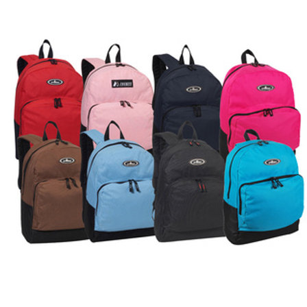 Bookbag with School Supplies