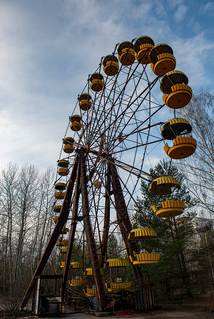 Pripyat Amusement Park - Ferris wheel