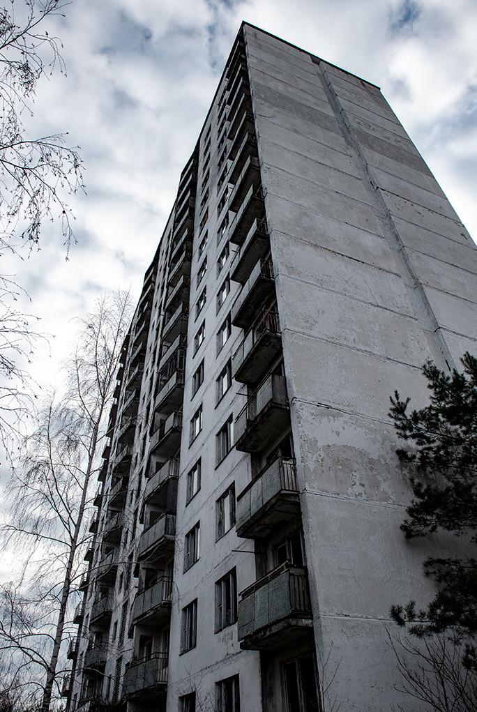 Building Pripyat