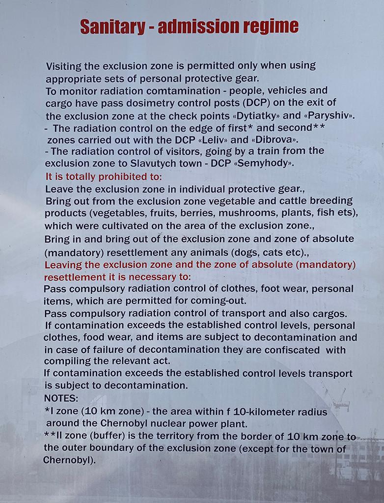 Sanitary - Admission Regime