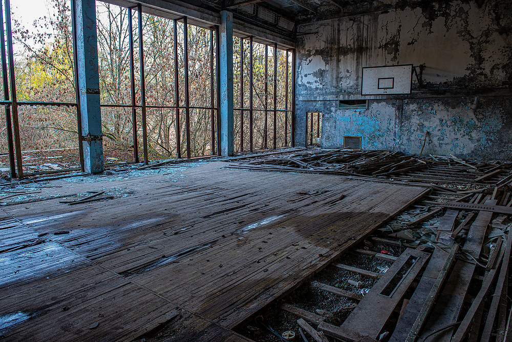 Pripyat - Indoor Basketball court