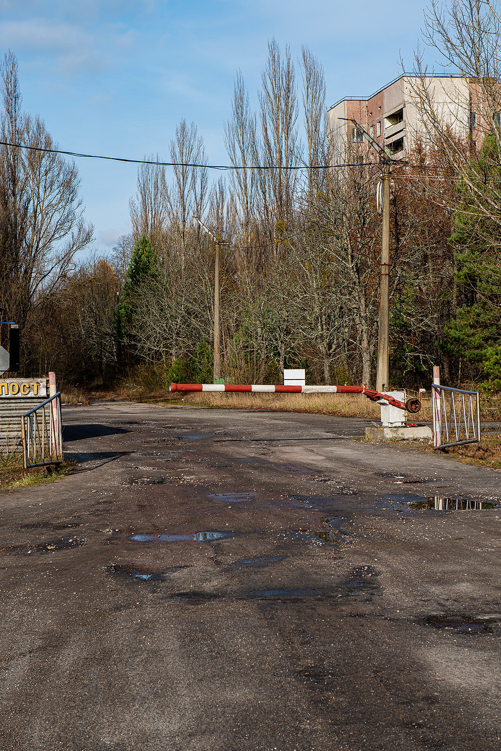 Pripyat Entrance - Checkpoint