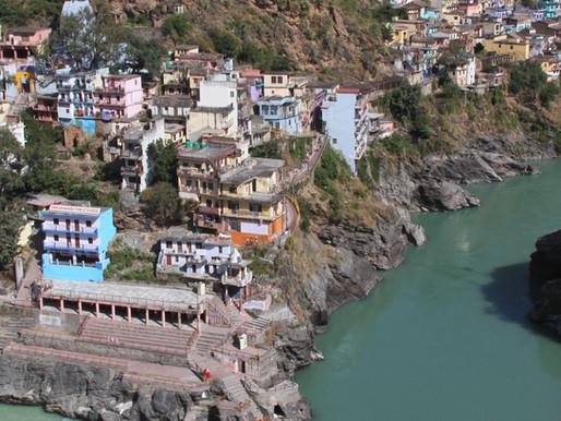 the sacred confluence of devaprayag