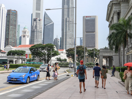 a photo journey of singapore