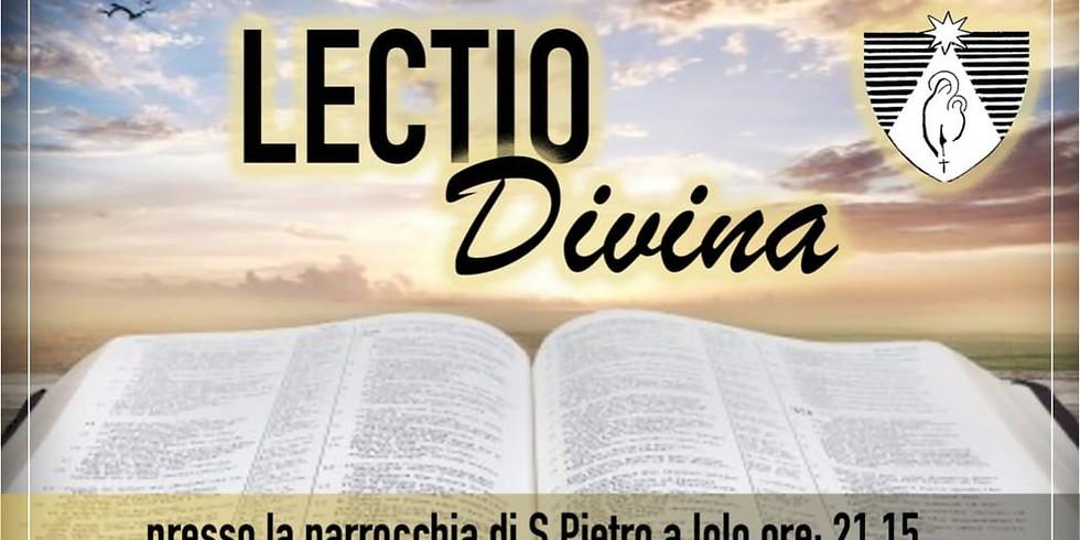 Lectio Divina per giovani - Iolo (PO)