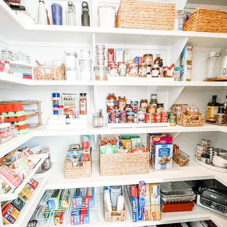 Townhome Pantry- Tall Ceilings, Maximize Space