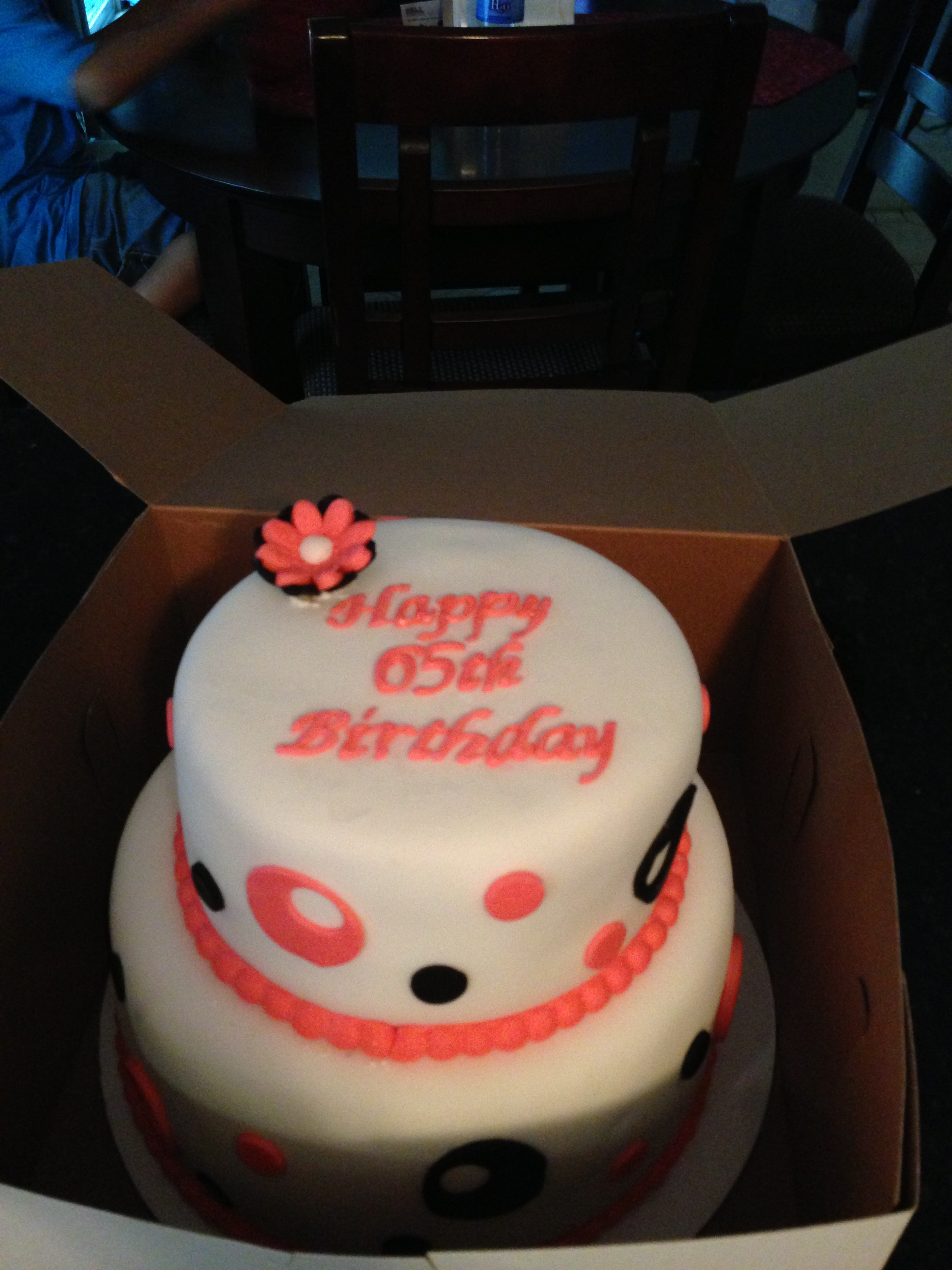 Happy 65th Birthday Cake