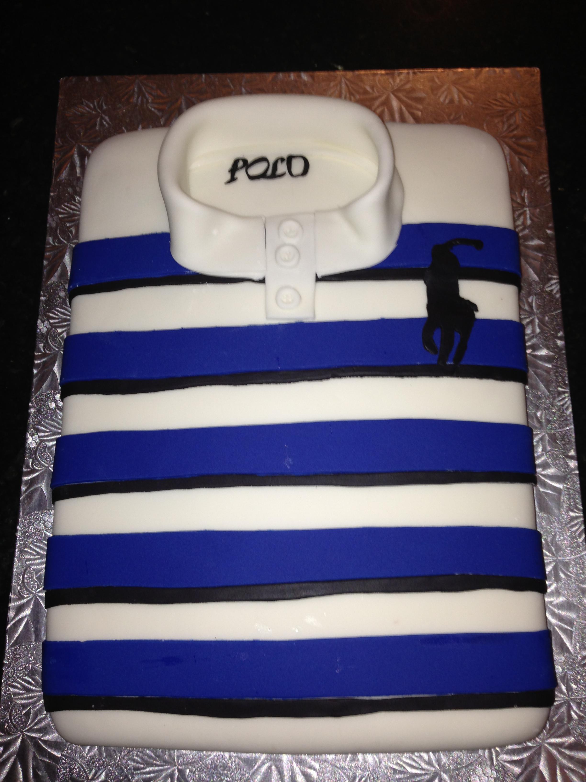 Polo Shirt Cake