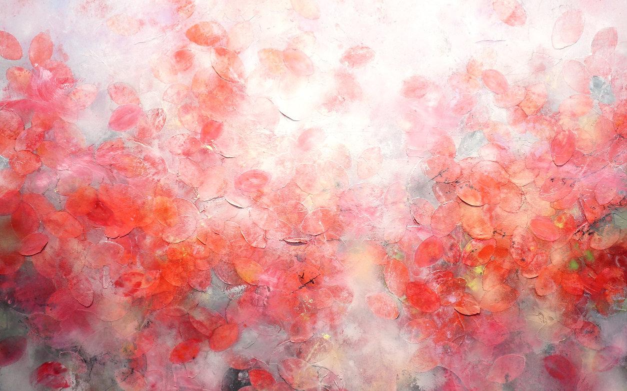 Frederic Paul Art | When it Blooms Oil, Acrylic, Ricepaper
