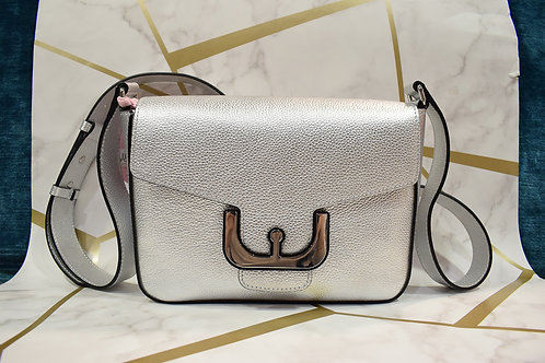 Coccinelle Textured Leather Shoulder Bag