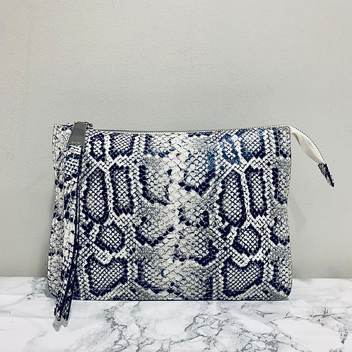 Abro Snakeskin Effect Crossbody