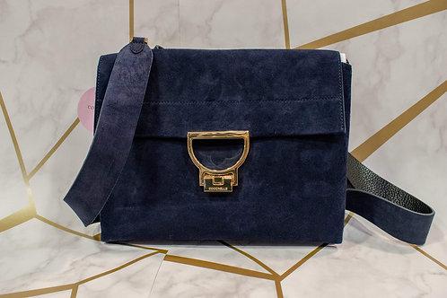 Coccinelle Suede Crossbody Bag