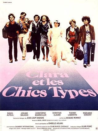 1981 Clara et les chics types Affiche OK