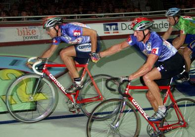 2002: Platz 12 beim Dortmunder 6-Day