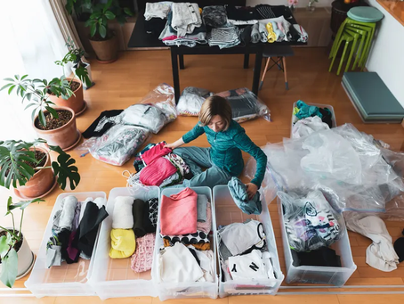 Seven steps to decluttering your home for 2021
