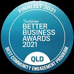 finalist seal_QLD_Best Community Engagem