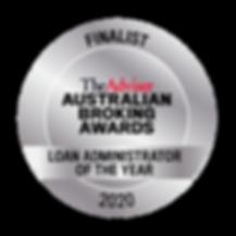 ABA_2020-Finalist_Loan Administrator  of