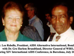 International AIDS Conference held in Barcelona in July 2002.
