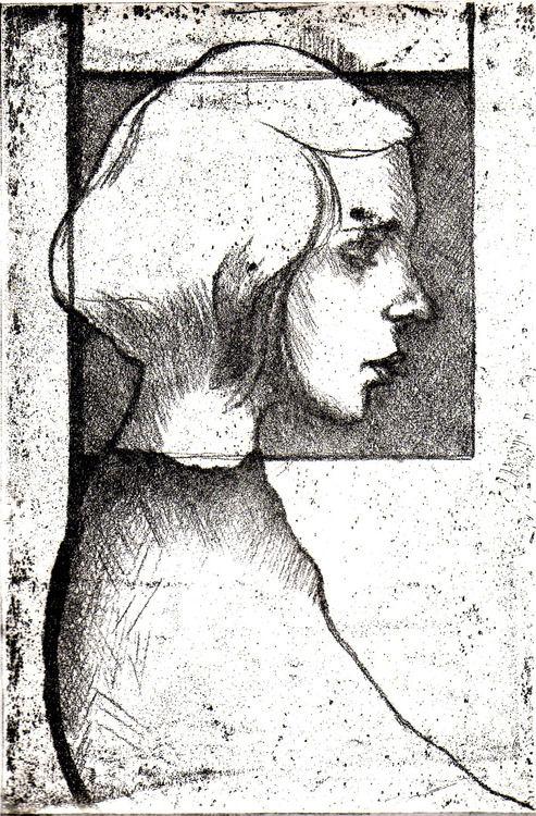 profilo di ragazza
