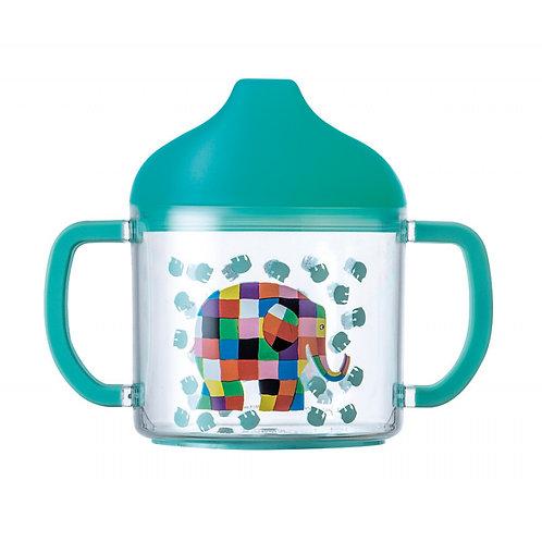 Petit Jour Sippy Cup Elmer tazza con manici