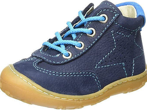Pepino Sami scarpe pelle nabuk naturale blu