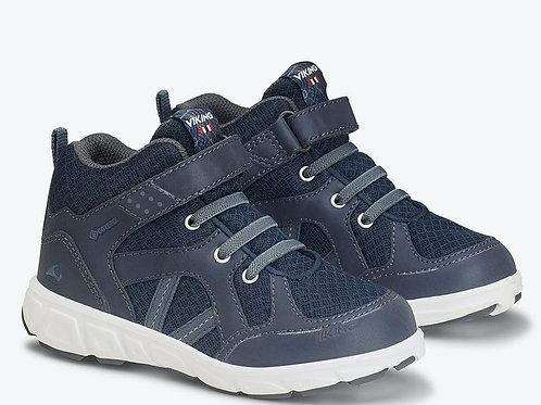 Viking Alvdal Mid Kinderschuhe scarpe Gore-Tex lacci elastici velcro