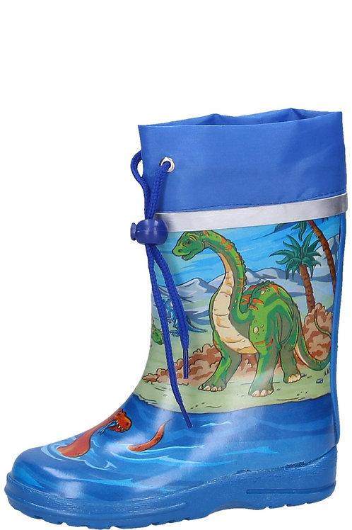Stivali di gomma con coulisse dinosauri Gummistiefel