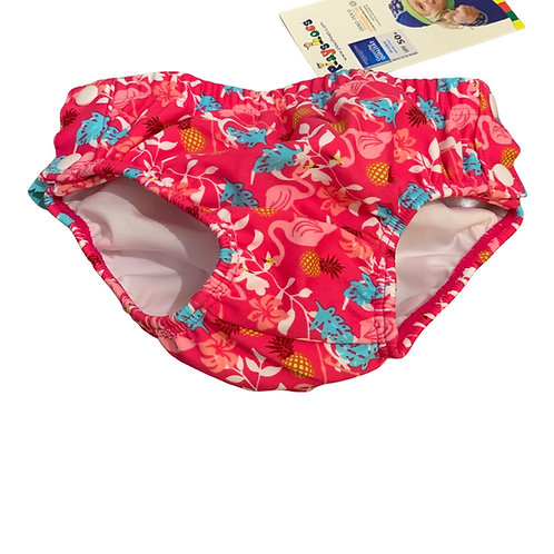 Costume da bagno contenitivo bambina Playshoes Badewindel bottoncini