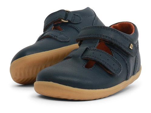 Jack & Jill Bobux scarpe semiaperte blu