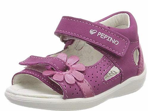 Pepino Silvy sandali in pelle bambina chiusura velcro