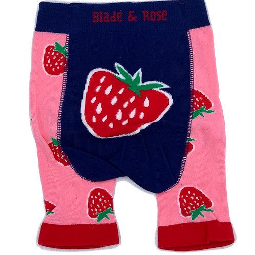 Blade & Rose leggings corti in cotone elastico morbido
