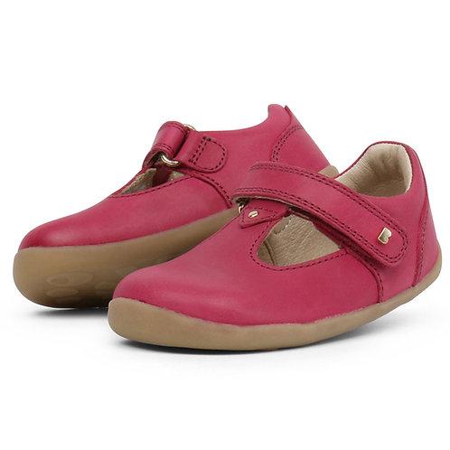 Bobux Louise T-bar scarpe primi passi in pelle