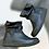 Thumbnail: Jungla stivaletti stivali DONNA pelle con cerniera suola gomma morbida