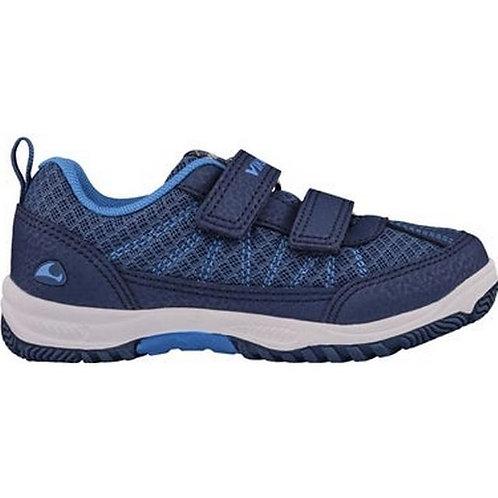 Viking Bryne scarpe sportive bambino blu chiusura velcro