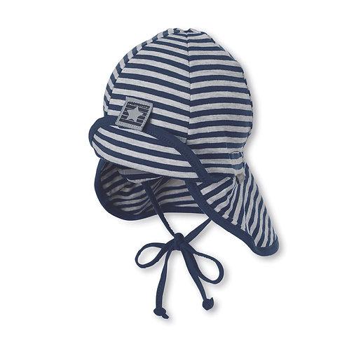 Sterntaler berretto cappello sole jersey di cotone parasole e laccetti