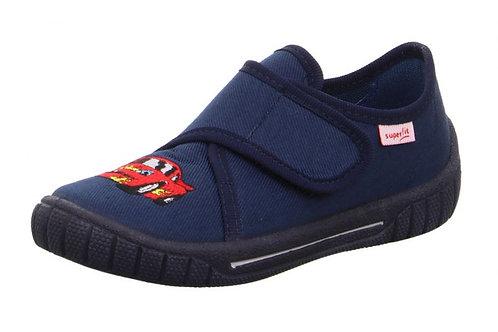 Superfit pantofole asilo in cotone e chiusura velcro