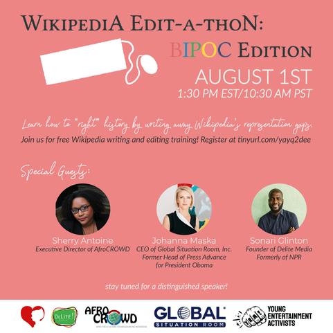 Wiki Edit-a-thon