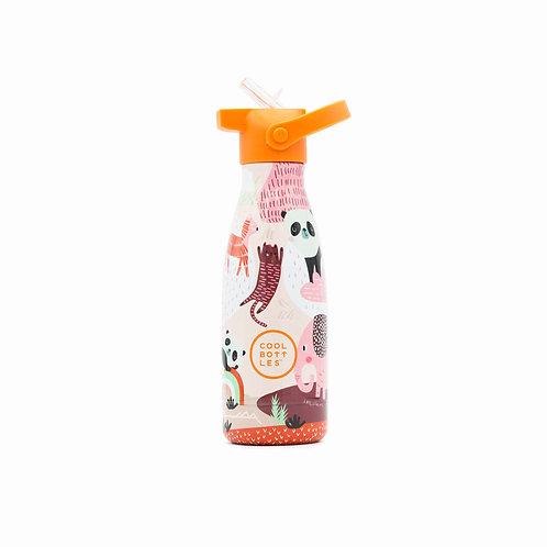 Cool Bottles Bottiglia termica per bambino in acciaio inossidabile  triplo