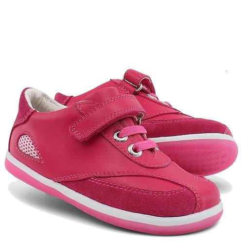 Bobux Shimmer scarpe sportive in pelle chiusura velcro