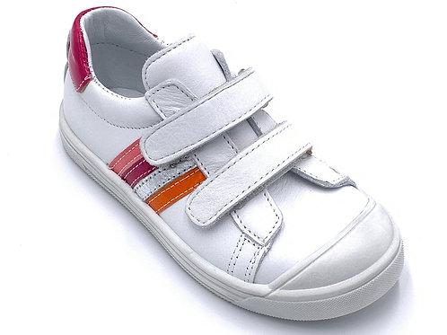 Bopy scarpe sportive in pelle con chiusura velcro