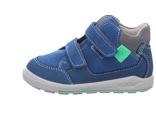 Pepino Zach scarpe sportive pelle impermeabili velcro colore avioavio