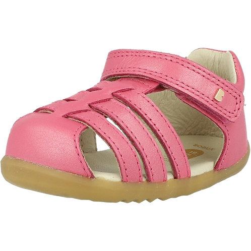 Sandali Bobux gabbietta velcro rosa intenso brillante