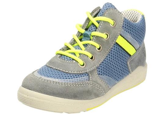 Scarpe sportive bambino Pepino Schuhe Nick chiusura lacci plantare cuoio