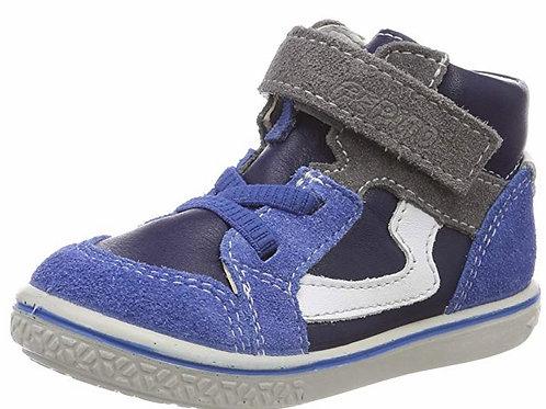 Pepino Benni scarpe sportive pelle velcro